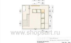 Дизайн проект ювелирного магазина GIM ТДК Маркос Молл торговое оборудование СОВРЕМЕННЫЙ СТИЛЬ Лист 08