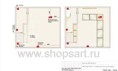 Дизайн проект ювелирного магазина GIM ТДК Маркос Молл торговое оборудование СОВРЕМЕННЫЙ СТИЛЬ Лист 09