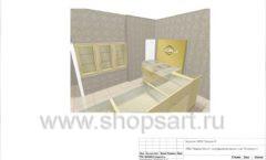 Дизайн проект ювелирного магазина GIM ТДК Маркос Молл торговое оборудование СОВРЕМЕННЫЙ СТИЛЬ Лист 14