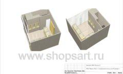 Дизайн проект ювелирного магазина GIM ТДК Маркос Молл торговое оборудование СОВРЕМЕННЫЙ СТИЛЬ Лист 15