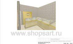 Дизайн проект ювелирного магазина GIM ТДК Маркос Молл торговое оборудование СОВРЕМЕННЫЙ СТИЛЬ Лист 16