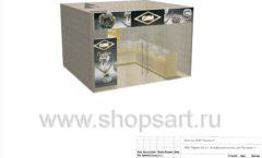 Дизайн проект ювелирного магазина GIM ТДК Маркос Молл торговое оборудование СОВРЕМЕННЫЙ СТИЛЬ Лист 17