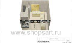 Дизайн проект ювелирного магазина GIM ТДК Маркос Молл торговое оборудование СОВРЕМЕННЫЙ СТИЛЬ Лист 18