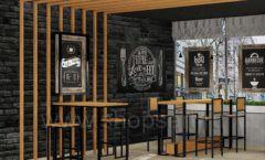 Дизайн интерьера для кафе баров ресторанов мебель ЛОФТ Дизайн 01