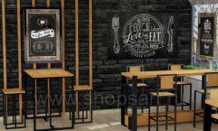 Дизайн интерьера для кафе баров ресторанов мебель ЛОФТ Дизайн 02