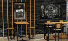 Дизайн интерьера для кафе баров ресторанов мебель ЛОФТ Дизайн 03