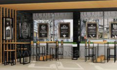 Дизайн интерьера для кафе баров ресторанов мебель ЛОФТ Дизайн 05