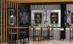 Дизайн интерьера для кафе баров ресторанов мебель ЛОФТ Дизайн 07