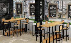Дизайн интерьера для кафе баров ресторанов мебель ЛОФТ Дизайн 09