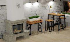Дизайн интерьера для кафе баров ресторанов мебель ЛОФТ Дизайн 10