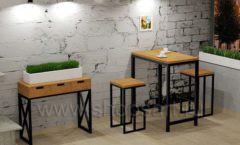 Дизайн интерьера для кафе баров ресторанов мебель ЛОФТ Дизайн 12
