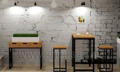 Дизайн интерьера для кафе баров ресторанов мебель ЛОФТ Дизайн 13