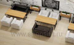 Дизайн интерьера для кафе баров ресторанов мебель ЛОФТ Дизайн 16