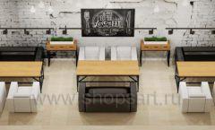 Дизайн интерьера для кафе баров ресторанов мебель ЛОФТ Дизайн 17