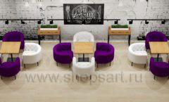 Дизайн интерьера для кафе баров ресторанов мебель ЛОФТ Дизайн 18
