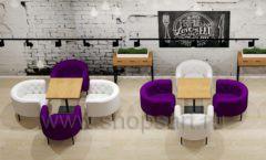 Дизайн интерьера для кафе баров ресторанов мебель ЛОФТ Дизайн 19