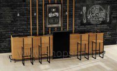 Дизайн интерьера для кафе баров ресторанов мебель ЛОФТ Дизайн 23