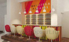 Дизайн интерьера бара в винотеки Дизайн 04