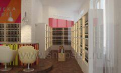 Дизайн интерьера бара в винотеки Дизайн 05