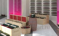 Дизайн интерьера бара в винотеки Дизайн 10