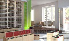 Дизайн интерьера бара в винотеки Дизайн 12