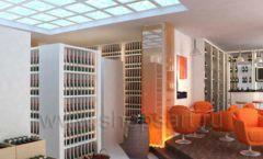 Дизайн интерьера кафе в винотеки Дизайн 3