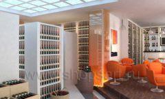 Дизайн интерьера кафе в винотеки Дизайн 4