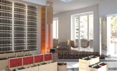 Дизайн интерьера кафе в винотеки Дизайн 9