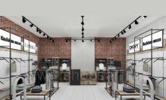 Дизайн интерьера магазина одежды коллекция ЛОФТ Дизайн 01