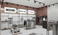 Дизайн интерьера магазина одежды коллекция ЛОФТ Дизайн 05