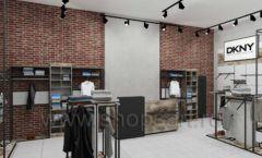 Дизайн интерьера магазина одежды коллекция ЛОФТ Дизайн 07