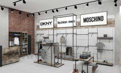 Дизайн интерьера магазина одежды коллекция ЛОФТ Дизайн 08
