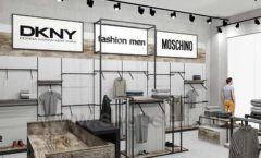Дизайн интерьера магазина одежды коллекция ЛОФТ Дизайн 09