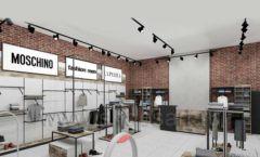 Дизайн интерьера магазина одежды коллекция ЛОФТ Дизайн 10