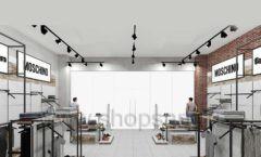 Дизайн интерьера магазина одежды коллекция ЛОФТ Дизайн 12