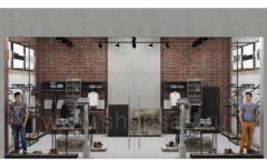 Дизайн интерьера магазина одежды коллекция ЛОФТ Дизайн 13