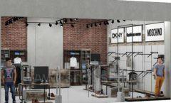 Дизайн интерьера магазина одежды коллекция ЛОФТ Дизайн 14