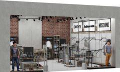 Дизайн интерьера магазина одежды коллекция ЛОФТ Дизайн 16