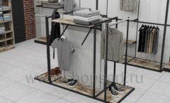 Дизайн интерьера магазина одежды коллекция ЛОФТ Дизайн 17