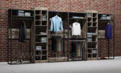 Дизайн интерьера магазина одежды коллекция ЛОФТ Дизайн 19