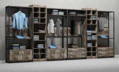 Дизайн интерьера магазина одежды коллекция ЛОФТ Дизайн 20