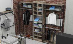 Дизайн интерьера магазина одежды коллекция ЛОФТ Дизайн 21