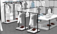Дизайн интерьера магазина одежды Rus Fashion Park коллекция BLACK STAR Дизайн 10