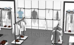 Дизайн интерьера магазина одежды Rus Fashion Park коллекция BLACK STAR Дизайн 12