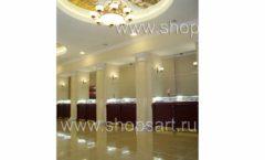Торговое оборудование для ювелирного магазина Октябрь Большой зал Фото 06