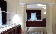 Торговое оборудование для ювелирного магазина Октябрь Большой зал Фото 08