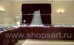 Торговое оборудование для ювелирного магазина Октябрь VIP зал Фото 19