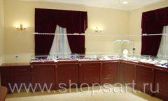 Торговое оборудование для ювелирного магазина Октябрь VIP зал Фото 21