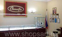Торговое оборудование для ювелирного магазина Октябрь VIP зал Фото 28