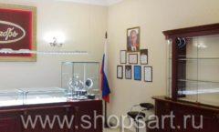 Торговое оборудование для ювелирного магазина Октябрь VIP зал Фото 29